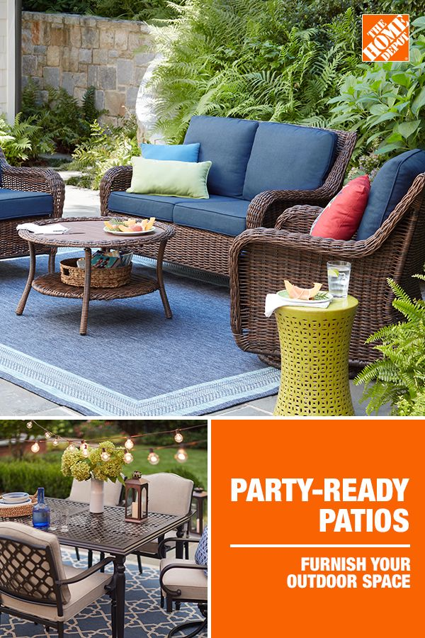Party Ready Patios Cheap Patio Furniture Patio Furniture Sets Backyard Furniture Decor