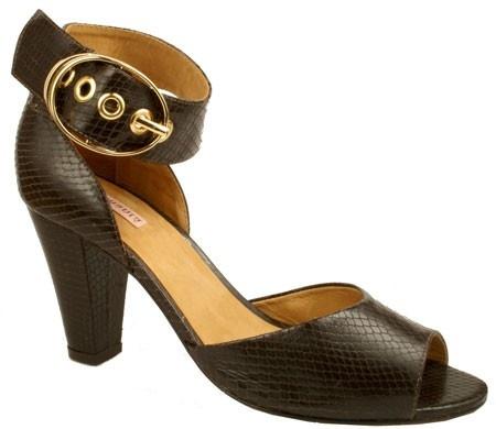 Samanta Nikki Brown Shoes For Women