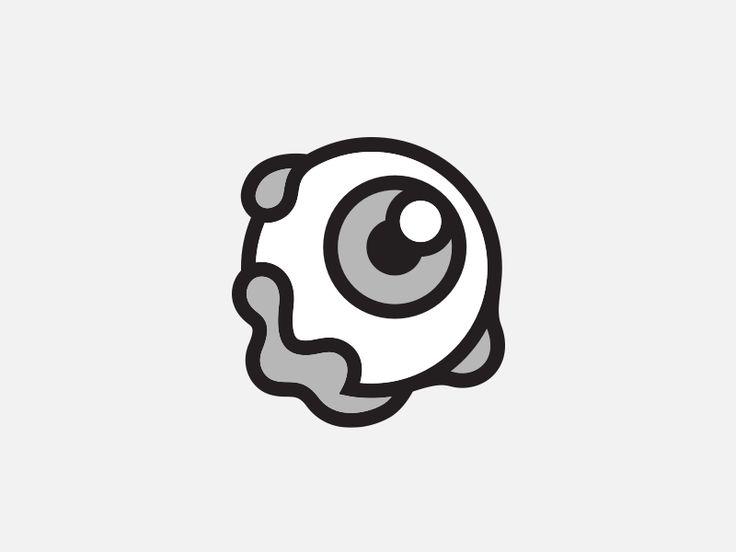 Eye Pin by Yasir Eryılmaz #Design Popular #Dribbble #shots