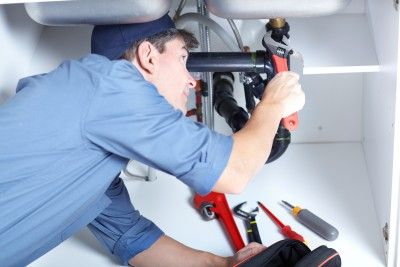 Sewer repair and drain cleaning plumbing services in Baltimore.