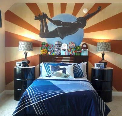 Skateboard Rooms 173 best rooms images on pinterest   home, kids rooms and