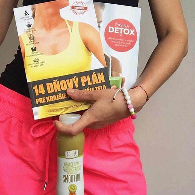 Naše knihy sú už aj v rukách @cackysk 💁🏼💛 #14dnovyplan #casnadetox