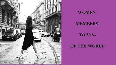 RéflexionsquiviennentdeParis: #womenmembersto50percentoftheworld