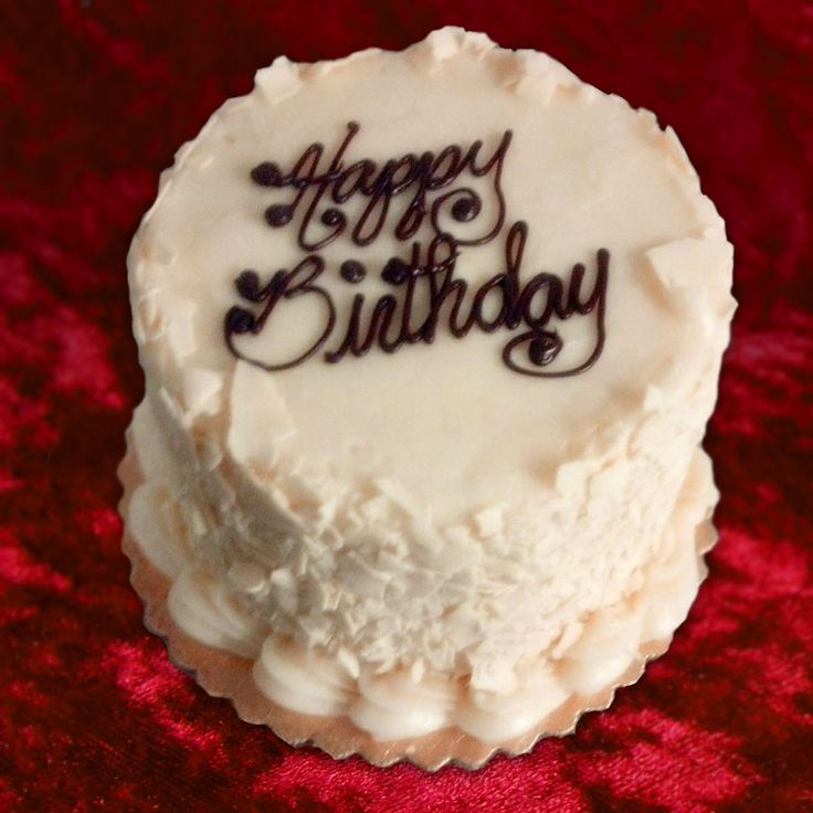 Happy birthday with a red velvet cake | Home > Layer Cakes > Birthday ...