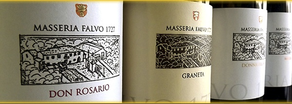 That of the Masseria Falvo is a small production of wine, all suited to quality. In the cellar the grapes comes only from our own vineyards, cultivated by organic farming, perfectly healthy.   The grapes are strictly vinified by traditional methods. - PASSITO DI SARACENA