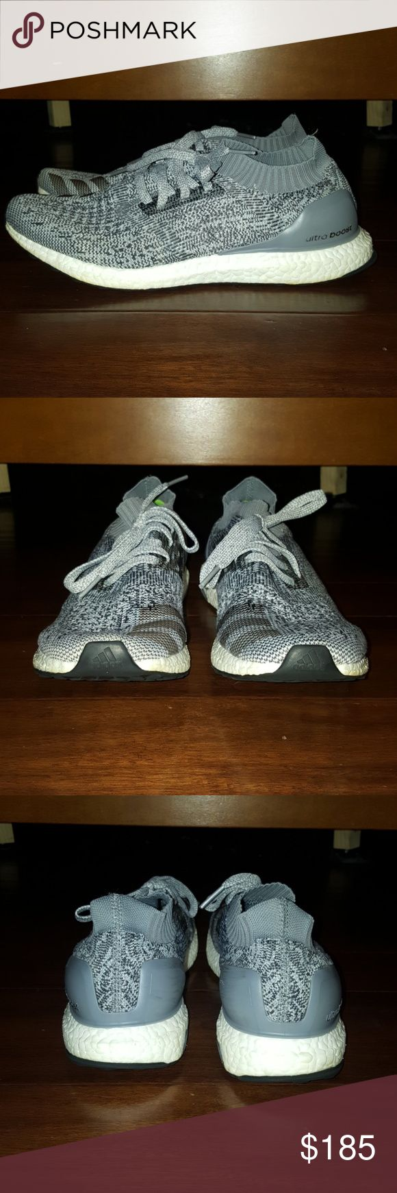 Adidas Ultra Boost Uncaged These are lightly used shoes. Almost perfect condition- you can see for yourself in the pictures. I took such good care of them. Selling bc I got a new pair of nmd's and don't wear these anymore. Has a little bit of natural oxidation on the bottom of the sole...a common occurrence with the boost technology..since it's on the bottom of the sole, you can't see it but I wanted to show it all anyways. adidas Shoes Sneakers
