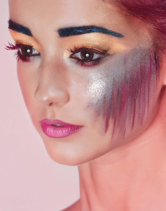 colorful makeup - makeup by sona  http://makeupbysona.com/