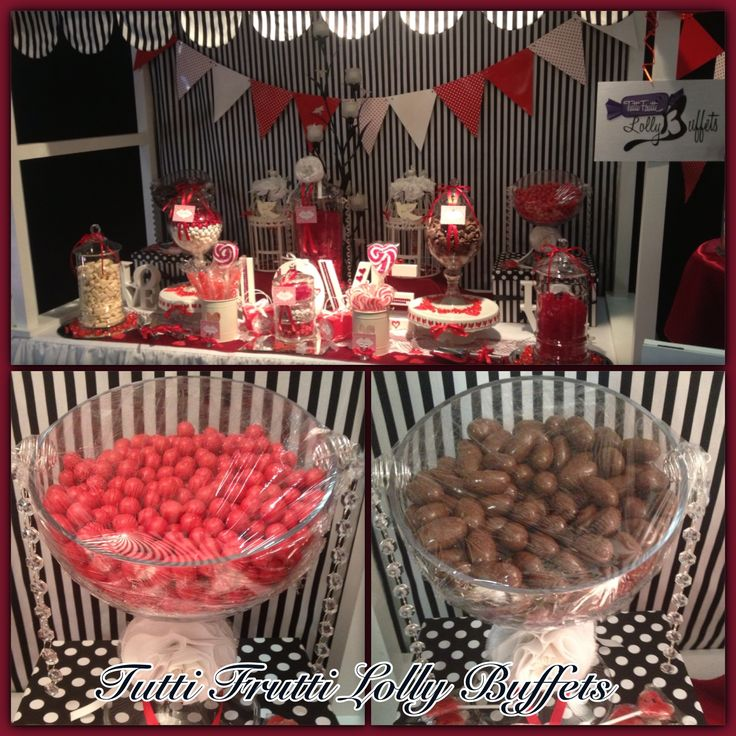 Red & White Buffet