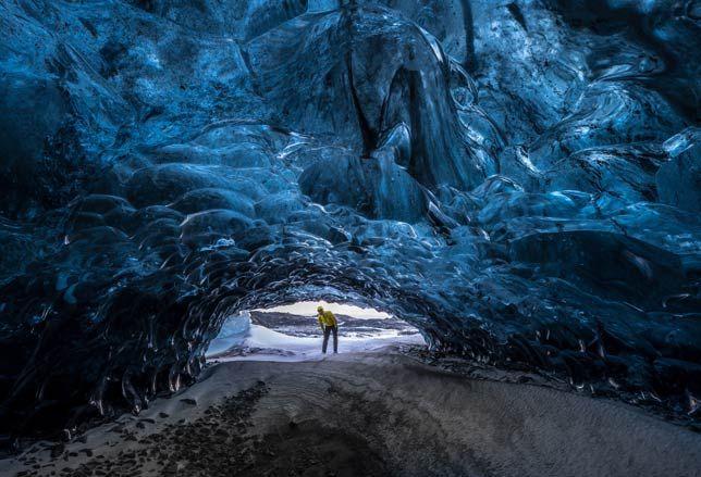 Le meravigliose grotte di ghiaccio dell'Islanda