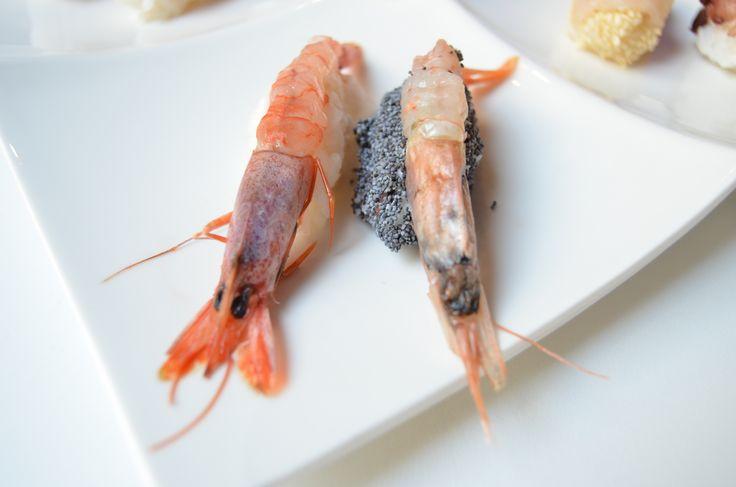 Sushi di gamberi #sushi #gamberi
