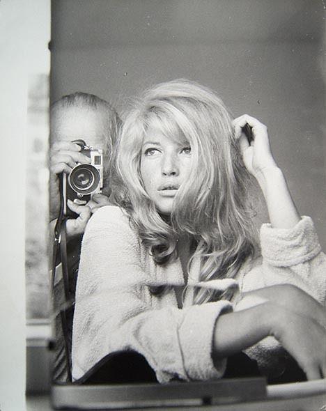 Peter Basch  'Monica Vitti'  Rome 1960