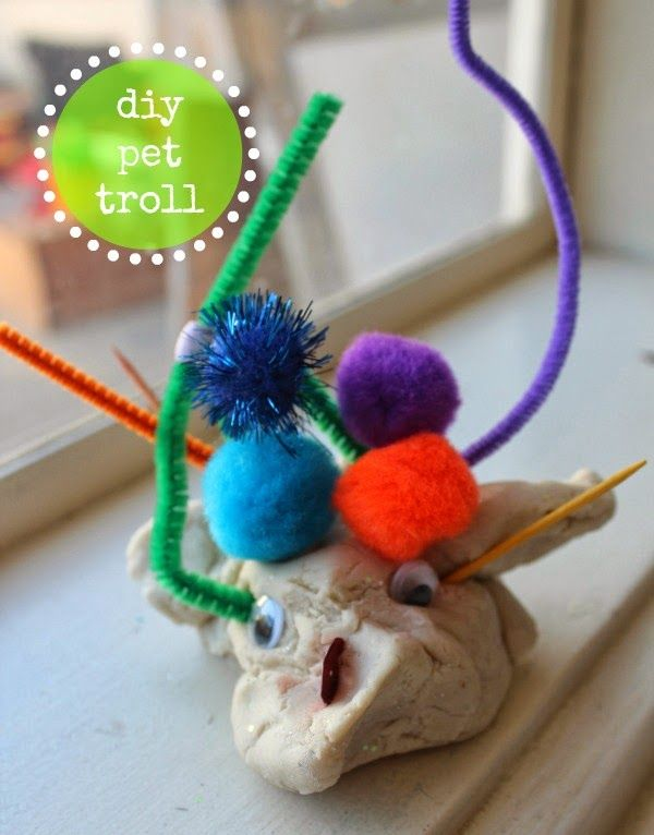 scrumdilly-do!: the three billy goats gruff: pet trolls