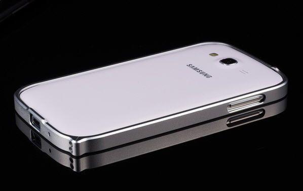 Samsung Galaxy Grand Duos Alumunium Bumper Bazzel Case