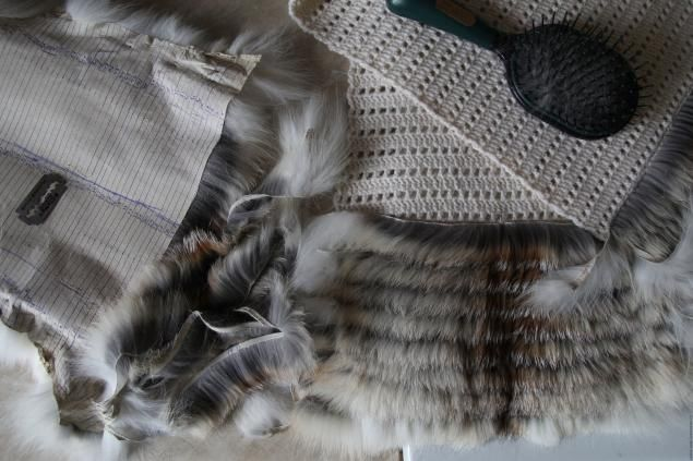 Меховой жилет с нашивкой меха лисы (полос). Часть 2. - Ярмарка Мастеров - ручная работа, handmade