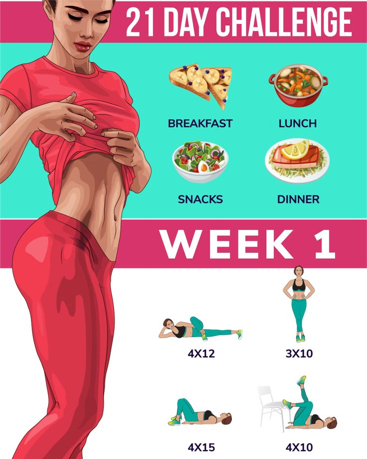 21-Day Challenge for Weight Loss