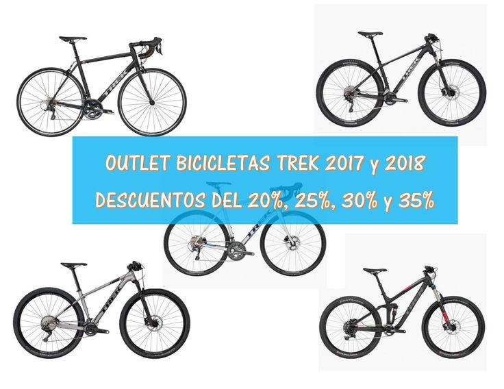 Outlet: Ofertas bicicletas Trek 2017 y 2018 con descuentos del 20%, 25%, 30% y 35%