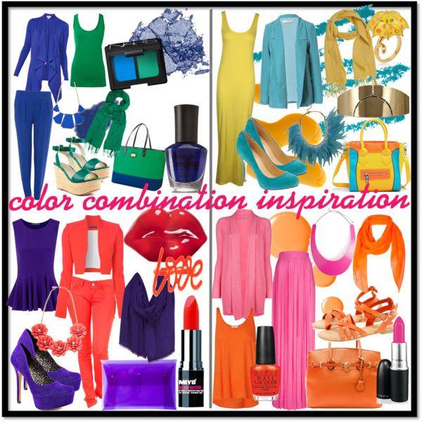"""Color Combination Inspiration"" by ekamulya on Polyvore"
