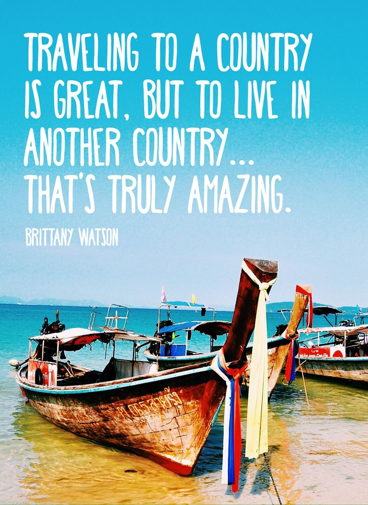 Inspiring interview with study abroader, Brittany Watson.