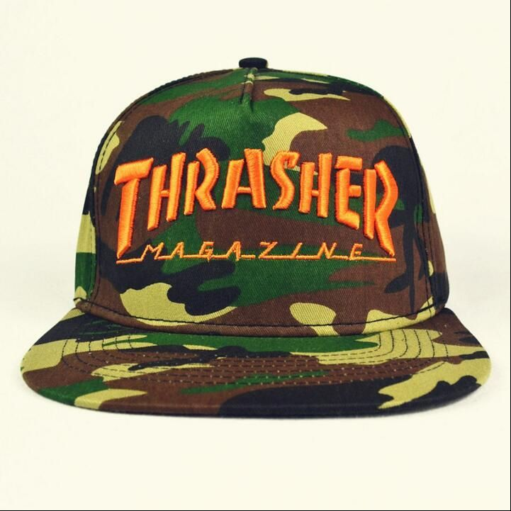 Trasher Snapback Cap New Arrive Hot Brand Baseball Caps Golf Camouflage Bone Sun Set Basketball Caps Hats For Men And Women Casquette Lids Hats Visors From Johnnyran, $19.0| Dhgate.Com