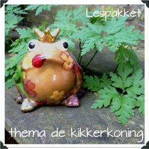 thema de kikkerkoning - Lespakket