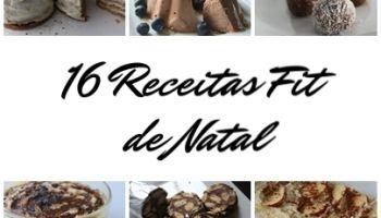 16 Receitas Fit Para O Natal | Por Joana Banana