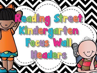 Freebielicious: Reading Street Focus Wall