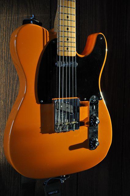 Fender Telecaster Capri Orange