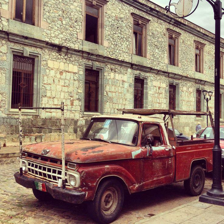 #Mexico day 5: Oaxaca  #Street #Car