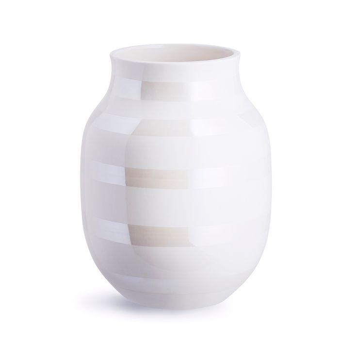 Omaggio+Vase+Medium,+Perlemor,+Kähler