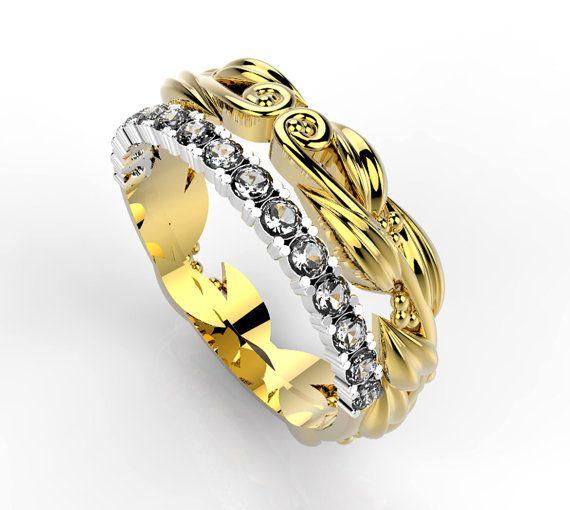 Fedina della purezza, anello in oro 18 Kt con 15 diamanti naturali da 1 punto alta purezza.