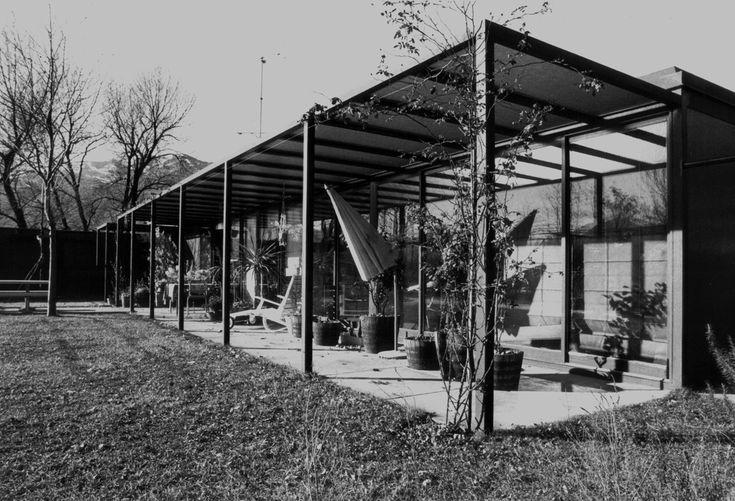 1968-69 Livio Vacchini Casa Vacchini via Aerodromo Ascona - via.