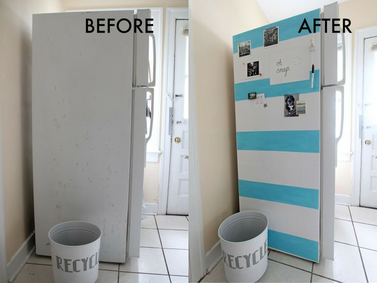 We Can Make Anything: Life Hack // Fridge Makeover Love This   And