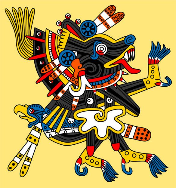 Xolotl: god of fire and of bad luck. He was the twin of ...
