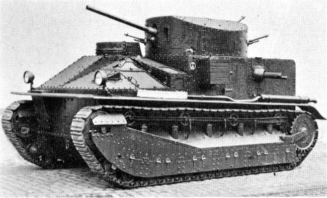 British Tanks of the Inter-war Decades - 1925 50 1934 - the Vickers Medium Mk II
