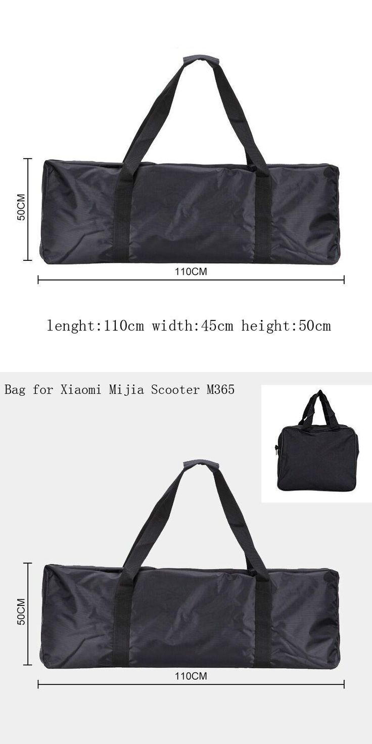 [Visit to Buy] Scooter Carry Bag for Xiaomi Scooter Mijia M365 Scooter Parts Electric Skateboard Bike Carrying Bag Handbag Durable 110*45*50cm #Advertisement