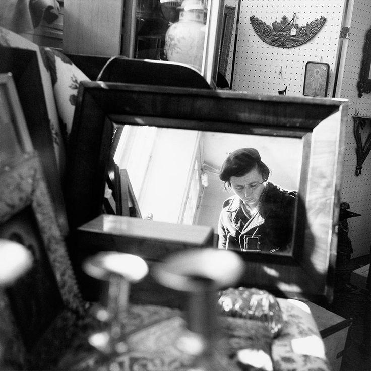 Vivian Maier - Self Portrait, 1971, Chicago Area / Silver Gelatin Print - 12 x 12 (on 16x20 paper)