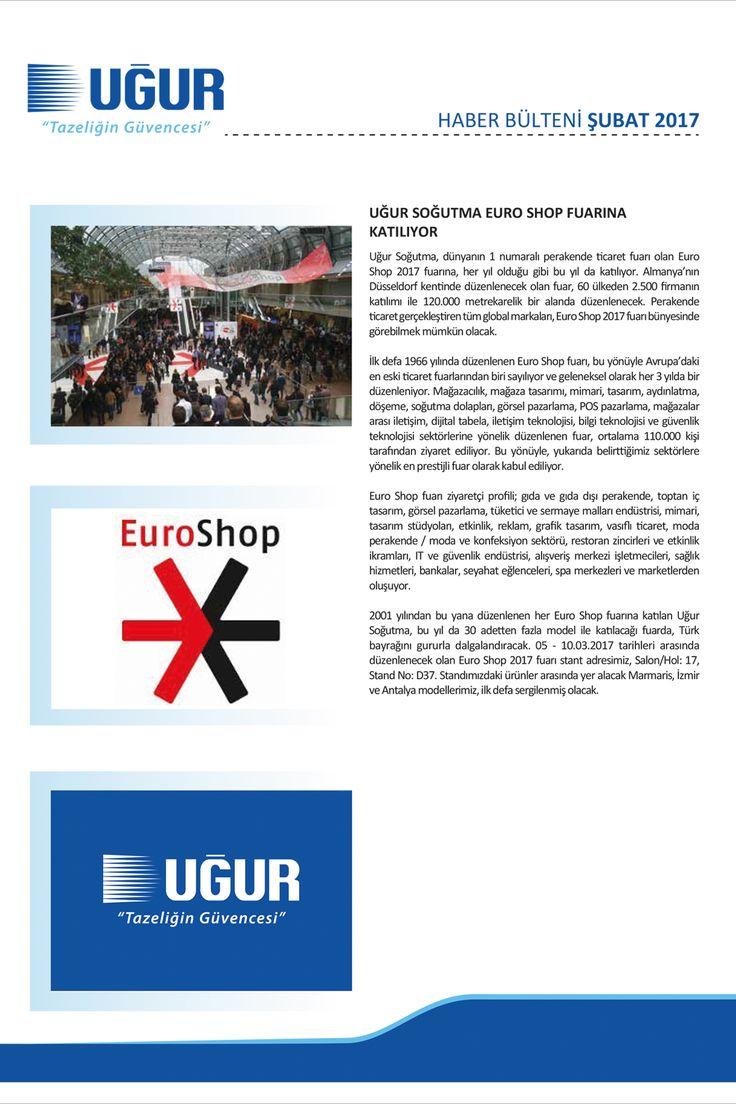 Uğur Soğutma Euro Shop Fuarına Katılıyor #ugurdanhaberler #ugursogutma #fuar