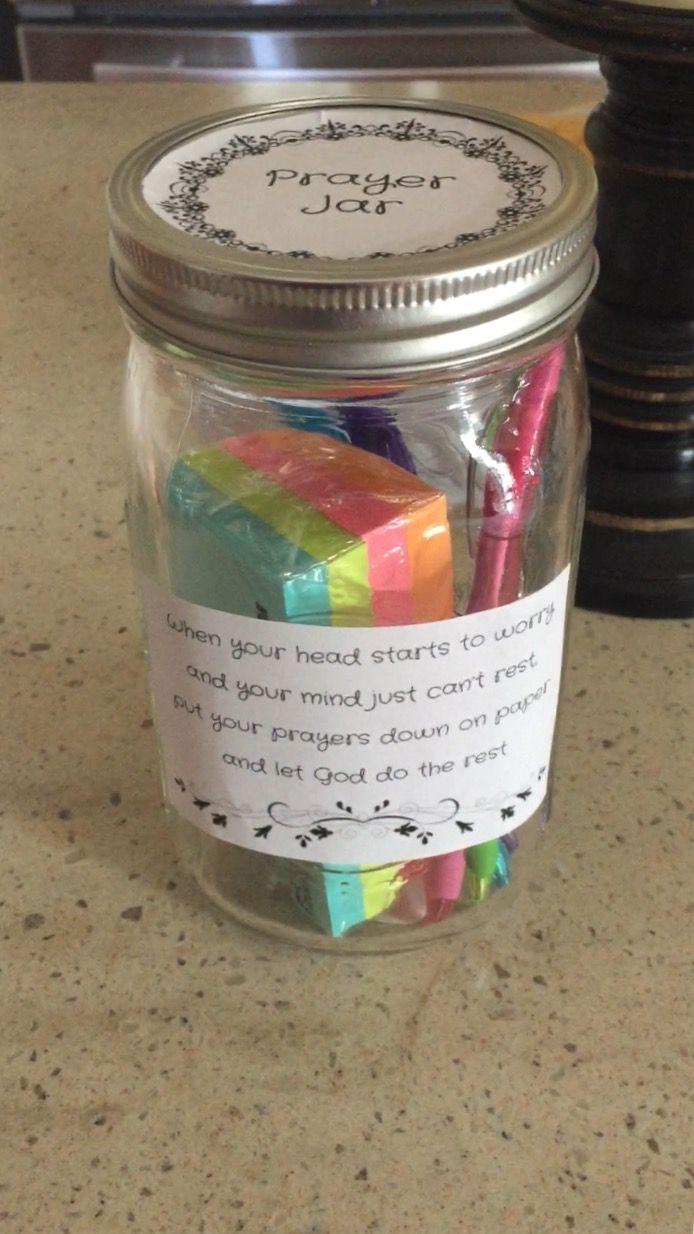 Cute Prayer Jar Gift Idea Prayer Jar Ministry Gifts Secret Sister Gifts