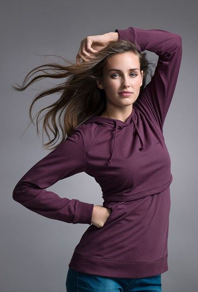 B-Warmer maternity / nursing hoodie in XL please in cranberry and/or ink blue!!