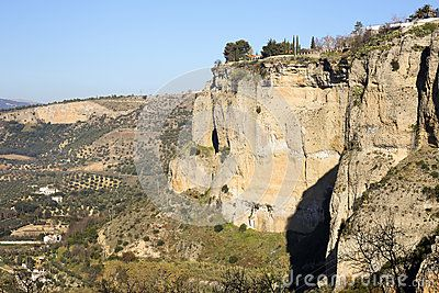 A view upon Ronda fields  taken in december 2015 around Christmas time. It's a MUST-VISIT place if you like to hike! Andalusia Spain