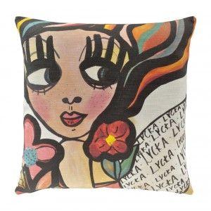 "Cushion cover ""Lycka"""
