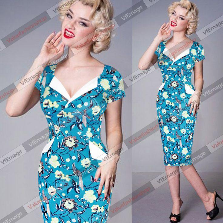 Vfemage женщин 2015 летом старинные кинозвезды ретро 50 s нагрудные Colorblock цветочные туника вечернее ну вечеринку Bodycon покачиваться платье 378, принадлежащий категории Платья и относящийся к Одежда и аксессуары для женщин на сайте AliExpress.com | Alibaba Group