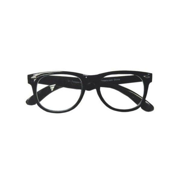 Recolored Buddy Holly glasses by Haleyy ❤ liked on Polyvore