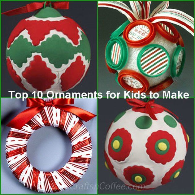 Christmas Crafting Ideas Part - 44: Let The Christmas Crafting Season Begin: 20+ Favorite Christmas Crafts  (plus, Last