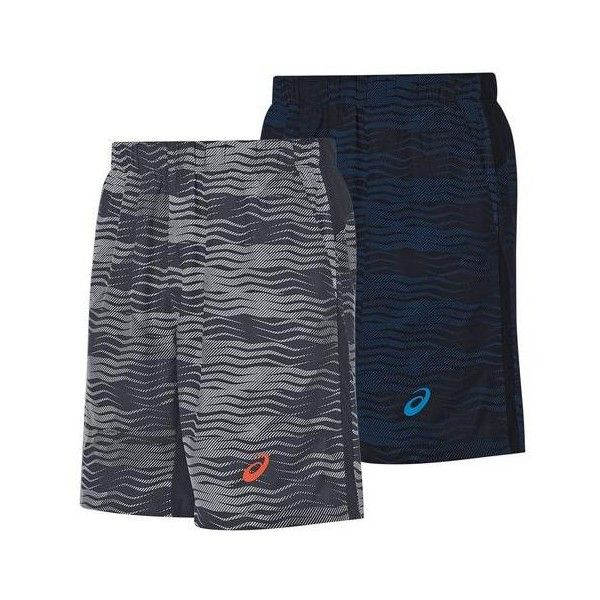 """The ASICS Men's Club GPX 7"""" Tennis Short is perfect for players who like to wear a modern style on the court. This future-facing piece of fashion features a 7 inch inseam, meaning that these shorts will be tight, but not too uncomfortable.The unique graphic that is displayed around the shorts can lull your opponent to sleep, as well as match most items that people traditionally wear on their chest and belly. Contrast color ASICS logo on the bottom hem."""