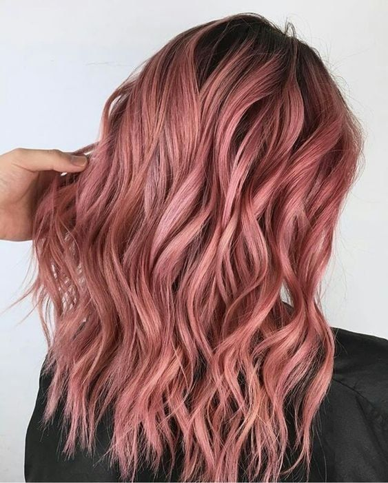 Hair style   Dyed hair   Pink har   Beauty   Inspiartion   More on Fashionchick