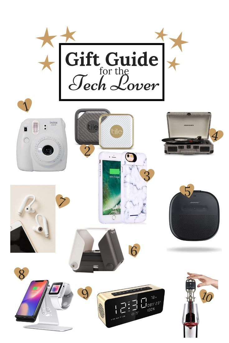 Christmas Gifts For Techies.Gift Guide For The Tech Lover Always Meliss Christmas B