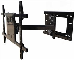"High Quality Sony KDL-48W600B ready articulating wall mount bracket with incredible 40"" extension. This super long extending TV mount with its 40"" extension allows a full 180º swivel left/right as well as featuring adjustable tilt capabilities. This single arm bracket attaches to wood studs on 16"" centers. The perfect mounting bracket for cabinets, Amoire or viewing around a corner in another room.  $369.99 with Free Shipping"