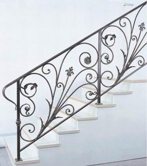 "Iron News Flash: New metal work is not ""wrought iron.""  Only very old ironwork is likely to be wrought iron.  Today everything is made from steel."