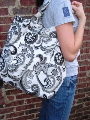 another tote bag tutorial